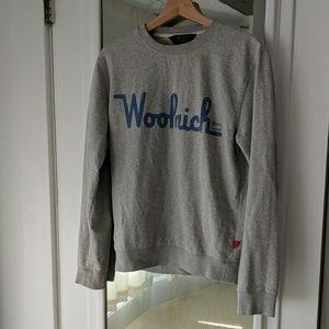 Men's Woolrich Graphic Sweatshirt Crew Neck